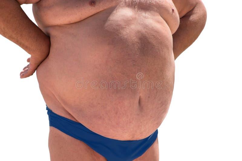 Μεγάλη κοιλιά του ατόμου στοκ φωτογραφία με δικαίωμα ελεύθερης χρήσης
