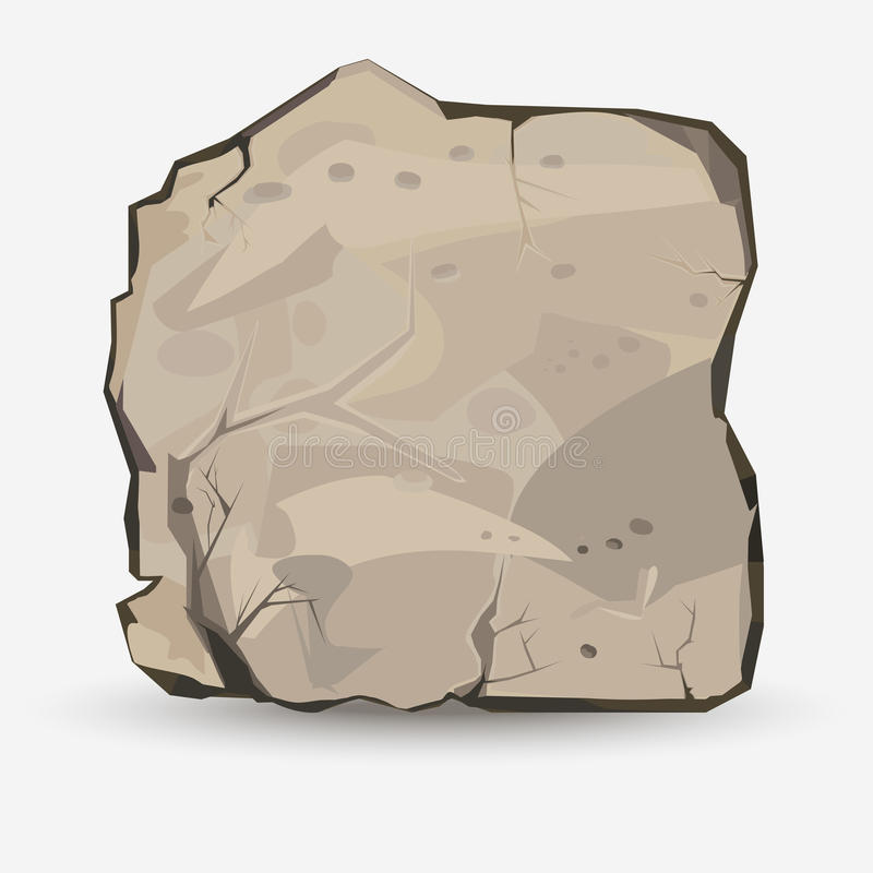 μεγάλη πέτρα βράχου απεικόνιση αποθεμάτων