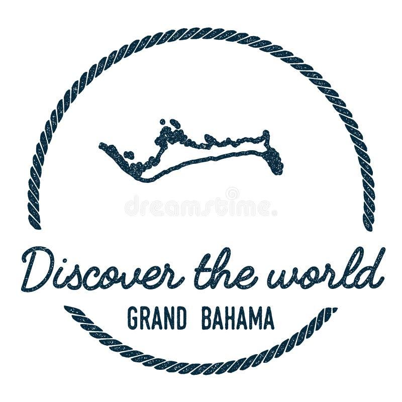 Μεγάλη περίληψη χαρτών Bahama Ο τρύγος ανακαλύπτει απεικόνιση αποθεμάτων
