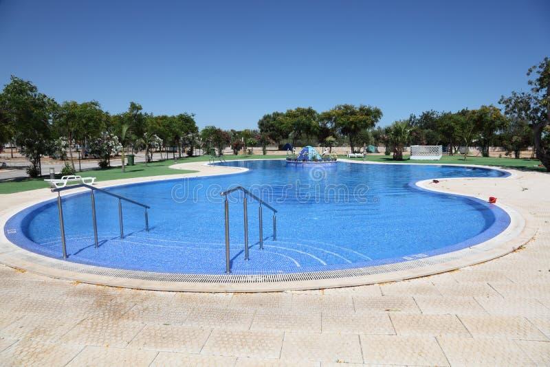 Μεγάλη πισίνα στοκ φωτογραφίες με δικαίωμα ελεύθερης χρήσης