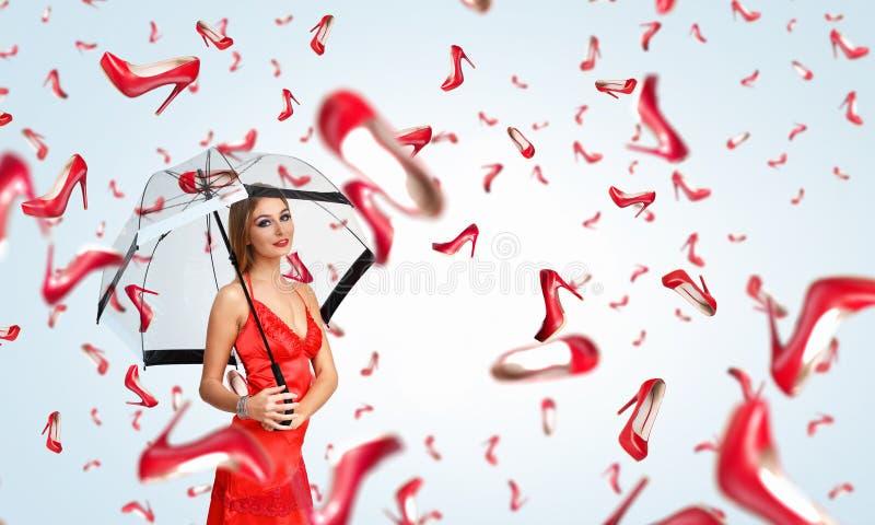 Μεγάλη πώληση παπουτσιών στοκ εικόνες με δικαίωμα ελεύθερης χρήσης