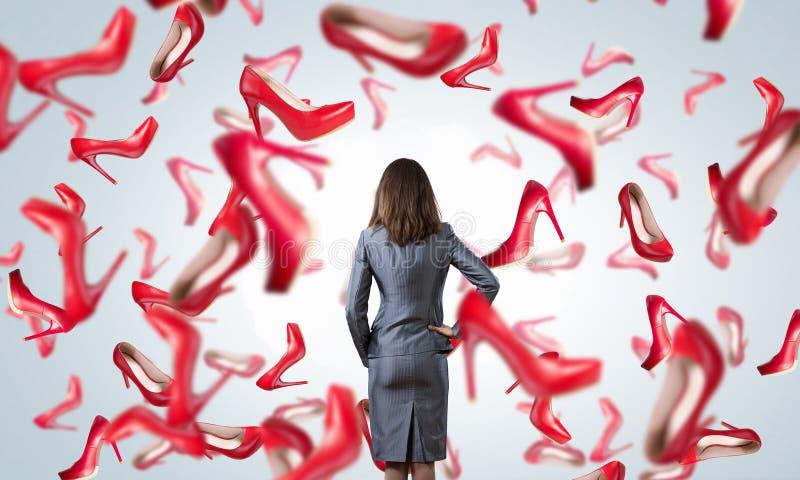 Μεγάλη πώληση παπουτσιών στοκ εικόνες