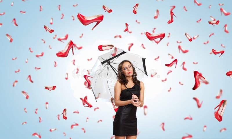 Μεγάλη πώληση παπουτσιών στοκ εικόνα με δικαίωμα ελεύθερης χρήσης