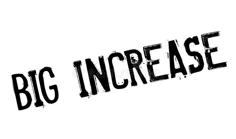 Μεγάλη σφραγίδα αύξησης απεικόνιση αποθεμάτων