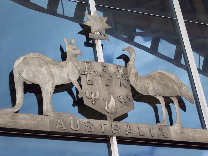 Μεγάλη σφραγίδα της Αυστραλίας στοκ φωτογραφίες με δικαίωμα ελεύθερης χρήσης