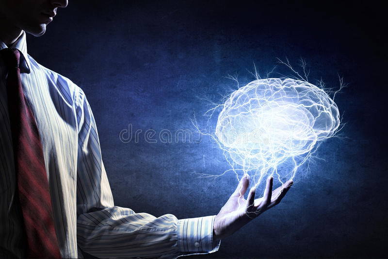 Μεγάλη δυνατότητα μυαλού στοκ εικόνες με δικαίωμα ελεύθερης χρήσης