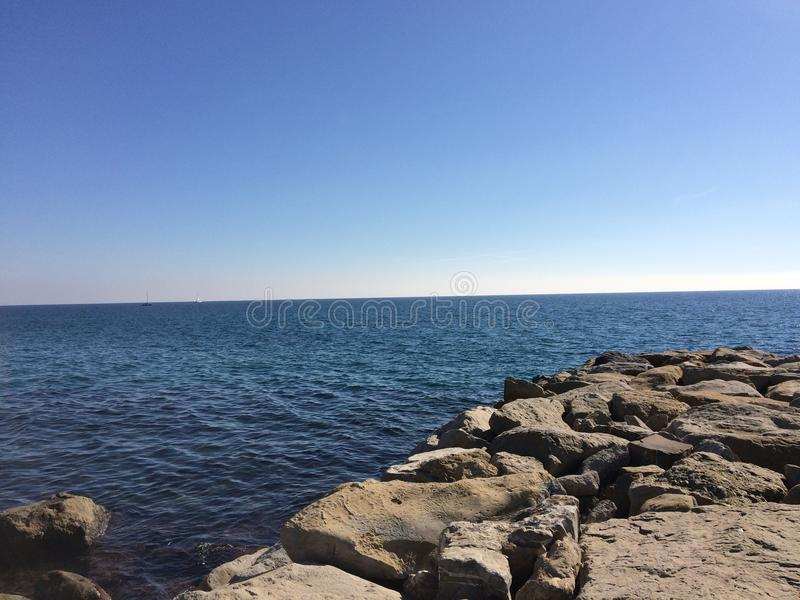 Μεγάλη ωκεάνια άποψη στοκ εικόνες με δικαίωμα ελεύθερης χρήσης
