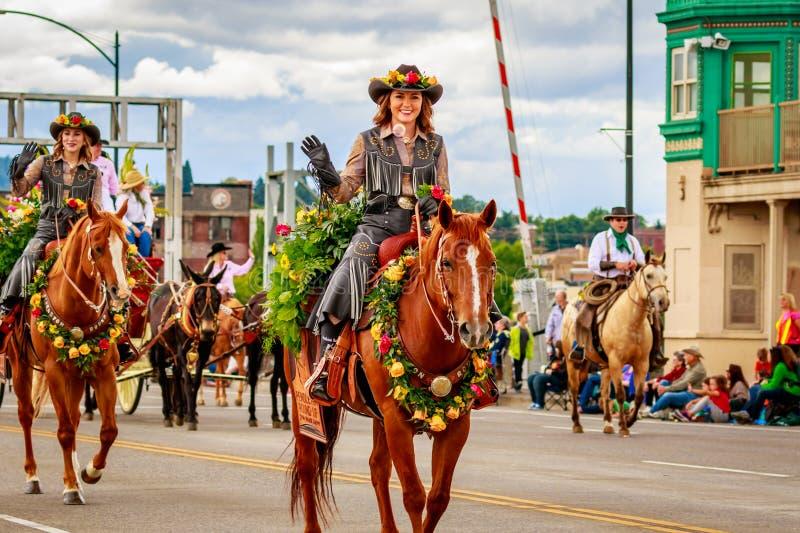 Μεγάλη Floral παρέλαση 2016 του Πόρτλαντ στοκ εικόνες με δικαίωμα ελεύθερης χρήσης