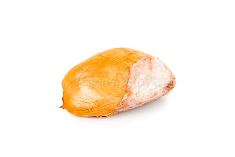 Μεγάλοι, κοντόχοντροι, στρογγυλοί, και σκληροί durian σπόροι φρούτων που απομονώνονται στο λευκό στοκ φωτογραφία με δικαίωμα ελεύθερης χρήσης