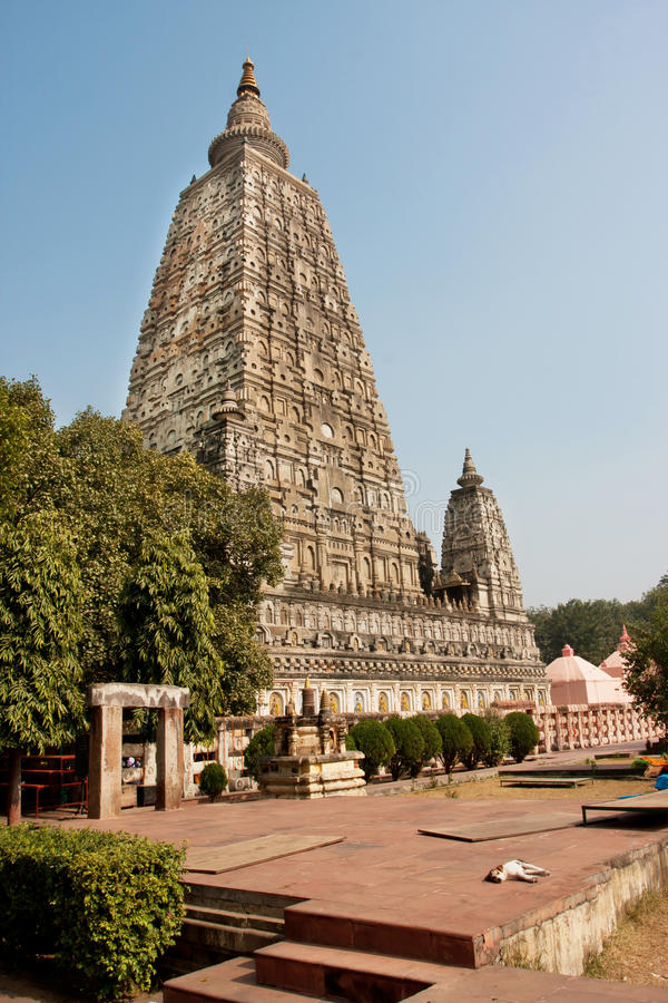Μεγάλος ξυπνώντας ναός που ενσωματώνεται 3$ος αιώνας Β Γ στοκ φωτογραφία με δικαίωμα ελεύθερης χρήσης
