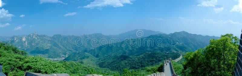 μεγάλος τοίχος βουνών στοκ εικόνες με δικαίωμα ελεύθερης χρήσης
