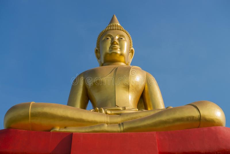 μεγάλος χρυσός του Βούδ στοκ εικόνες με δικαίωμα ελεύθερης χρήσης