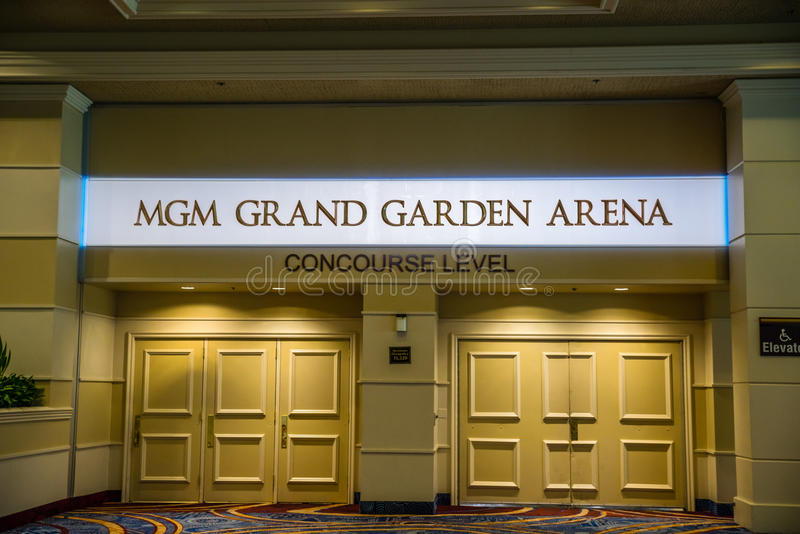 Μεγάλος χώρος κήπων MGM στοκ εικόνες