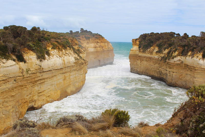 Μεγάλος ωκεάνιος δρόμος, Αυστραλία στοκ φωτογραφία με δικαίωμα ελεύθερης χρήσης