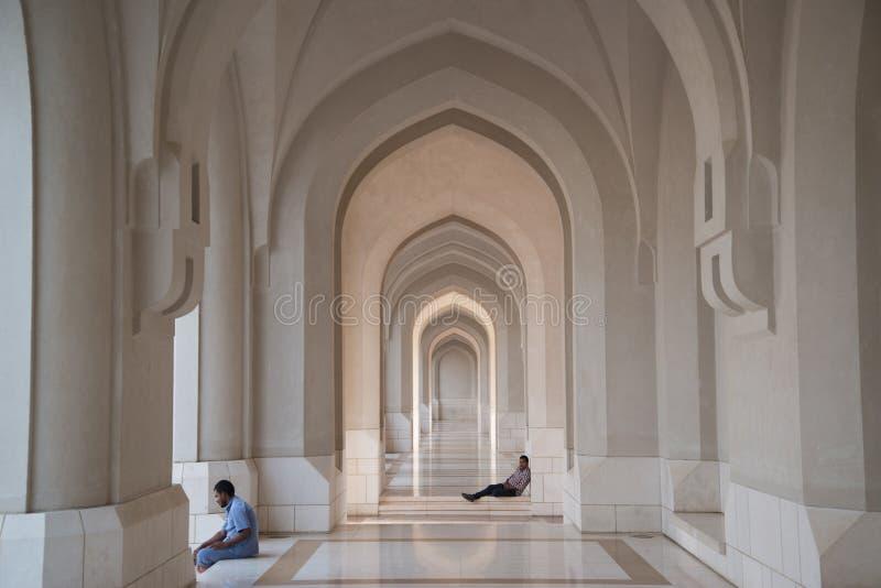 μεγάλος muscat μουσουλμανι στοκ εικόνα με δικαίωμα ελεύθερης χρήσης