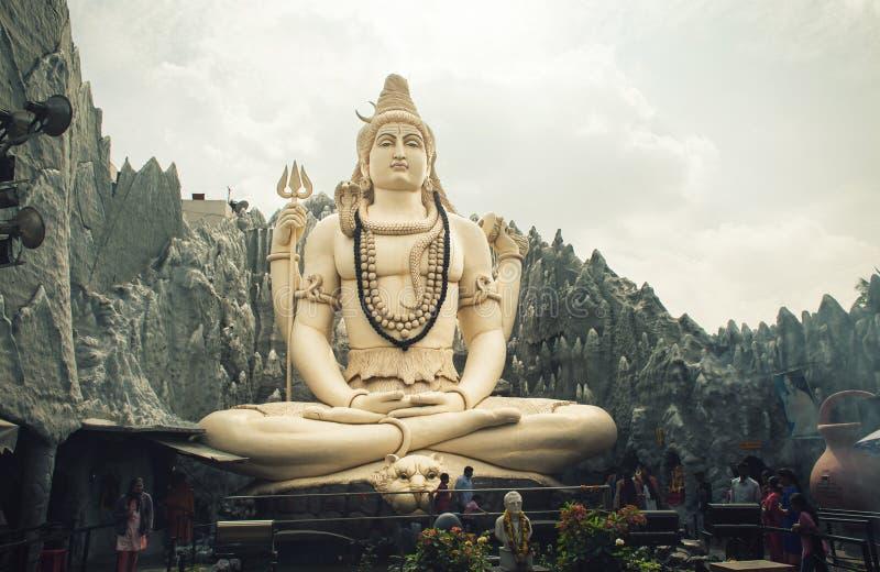 Μεγάλο άγαλμα shiva στοκ φωτογραφίες