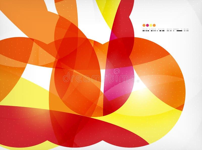 Μεγάλο γεωμετρικό εταιρικό επιχειρησιακό πρότυπο μορφών διανυσματική απεικόνιση
