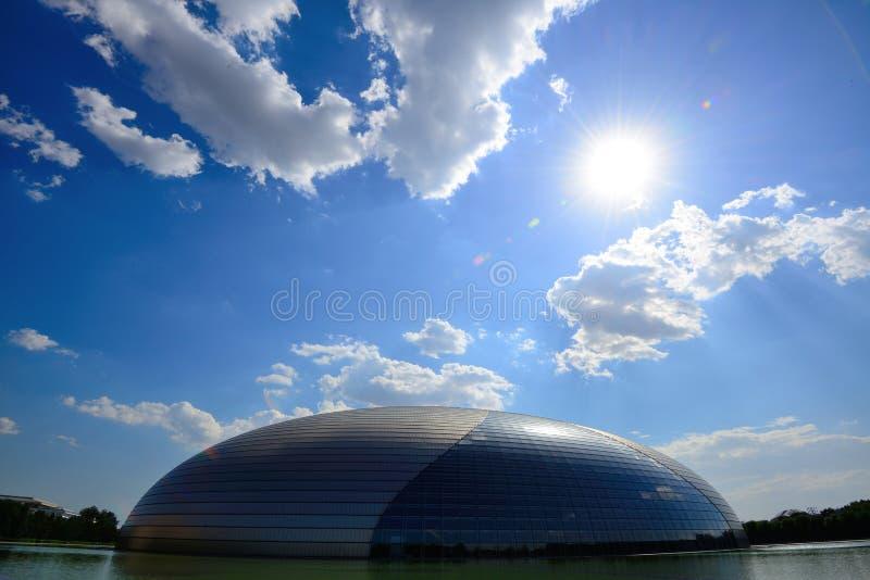 μεγάλο εθνικό θέατρο στοκ εικόνα με δικαίωμα ελεύθερης χρήσης