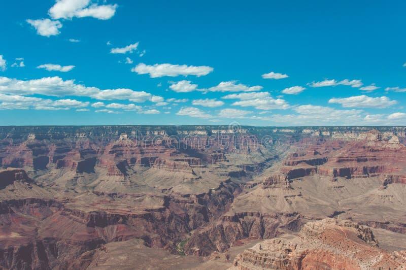 Μεγάλο εθνικό πάρκο φαραγγιών, Αριζόνα ΗΠΑ στοκ εικόνα