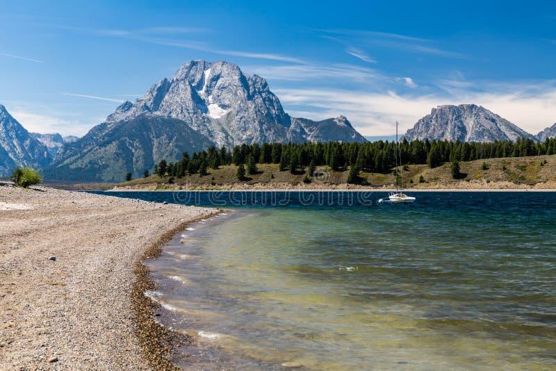 μεγάλο εθνικό πάρκο teton στοκ εικόνες με δικαίωμα ελεύθερης χρήσης