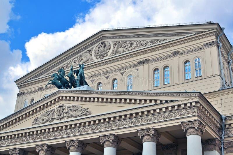 Μεγάλο θέατρο στη Μόσχα στοκ εικόνες