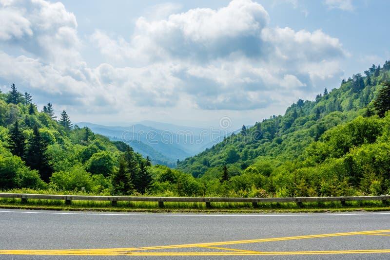 Μεγάλο καπνώές εθνικό πάρκο βουνών στοκ φωτογραφίες με δικαίωμα ελεύθερης χρήσης