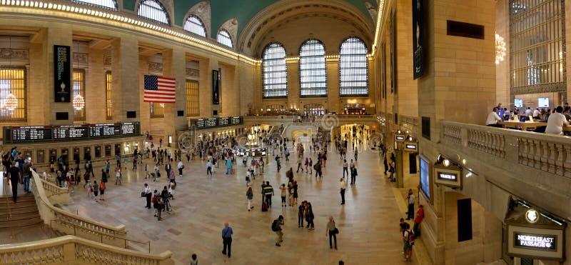 Μεγάλο κεντρικό τερματικό, σταθμός, πόλη της Νέας Υόρκης στοκ φωτογραφία με δικαίωμα ελεύθερης χρήσης