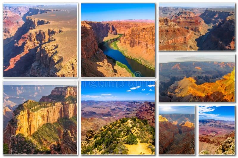 Download Μεγάλο κολάζ φαραγγιών στοκ εικόνες. εικόνα από έρημος - 62715208
