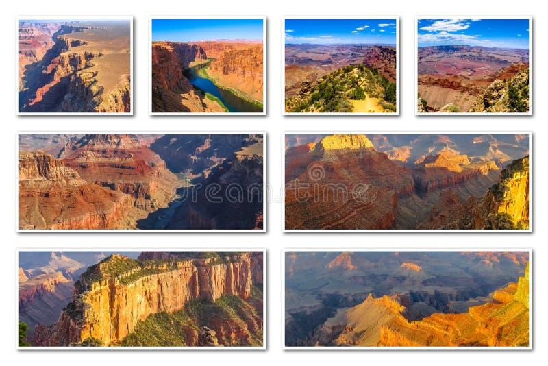 Download Μεγάλο κολάζ φαραγγιών στοκ εικόνες. εικόνα από έρημος - 62715238