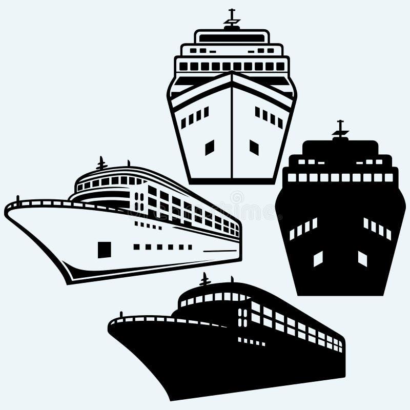 μεγάλο κρουαζιερόπλοιο απεικόνιση αποθεμάτων