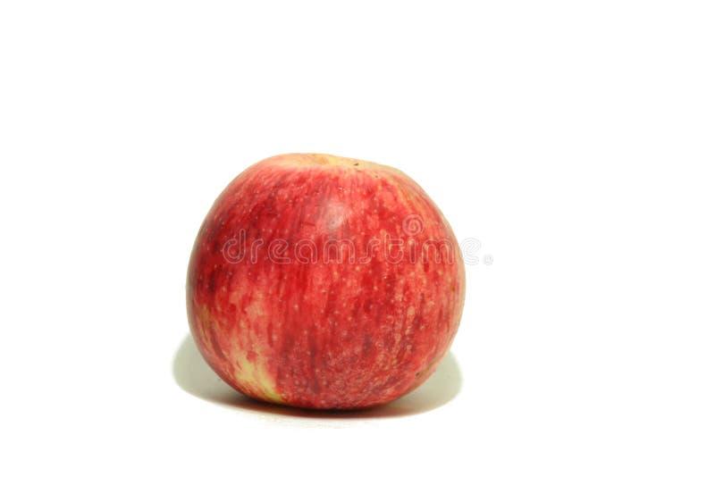 Μεγάλο κόκκινο μήλο από τον κήπο 2 στοκ φωτογραφία