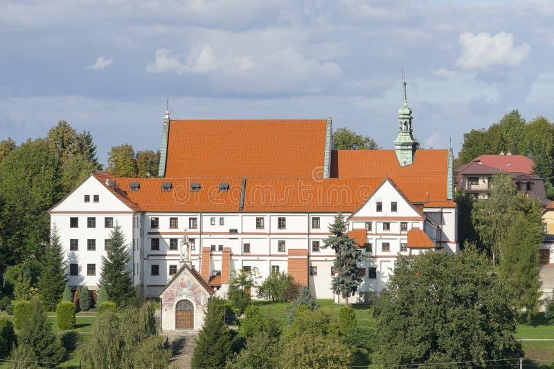 Μεγάλο μοναστήρι σε Wieliczka στοκ φωτογραφία