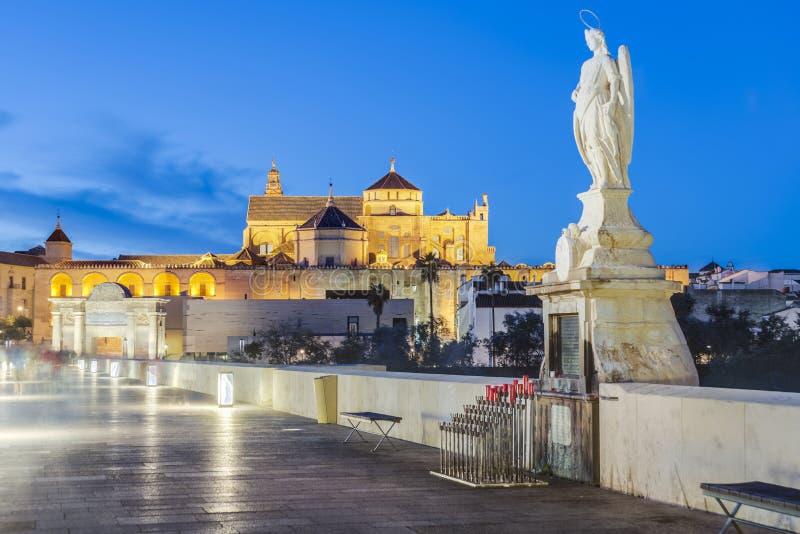 Μεγάλο μουσουλμανικό τέμενος της Κόρδοβα, Ανδαλουσία, Ισπανία στοκ εικόνα με δικαίωμα ελεύθερης χρήσης