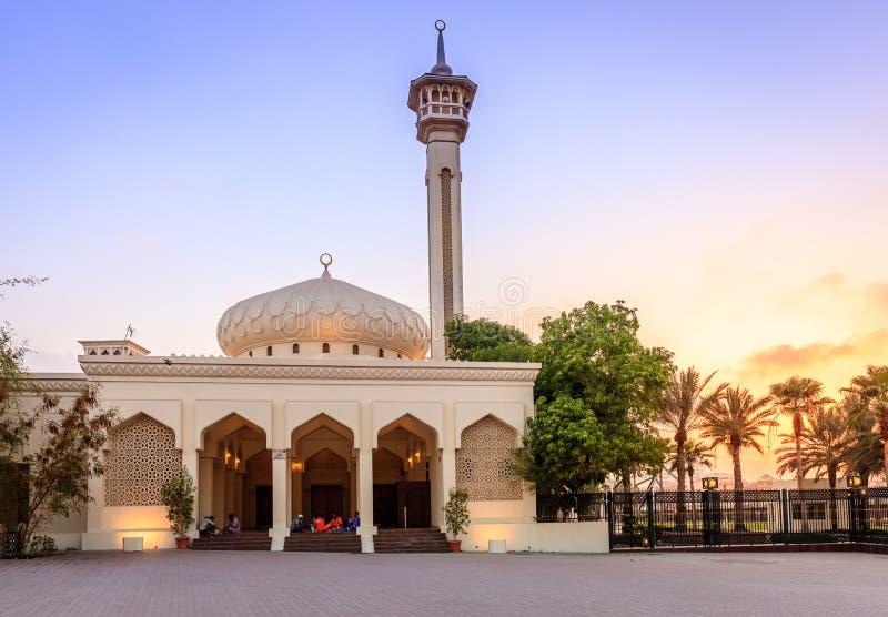 Μεγάλο μουσουλμανικό τέμενος του Ντουμπάι στοκ φωτογραφίες με δικαίωμα ελεύθερης χρήσης
