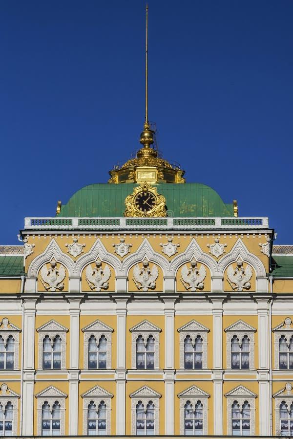 Μεγάλο παλάτι του Κρεμλίνου, Μόσχα, Ρωσία στοκ εικόνες