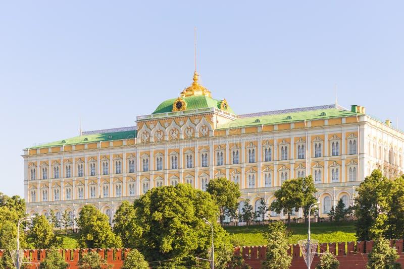 Μεγάλο παλάτι του Κρεμλίνου στη Μόσχα στοκ εικόνα