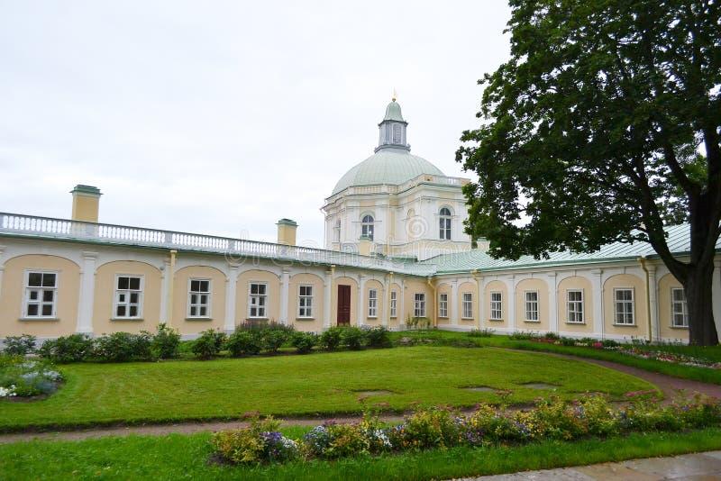 Μεγάλο παλάτι Menshikovsky σε Oranienbaum στοκ εικόνες