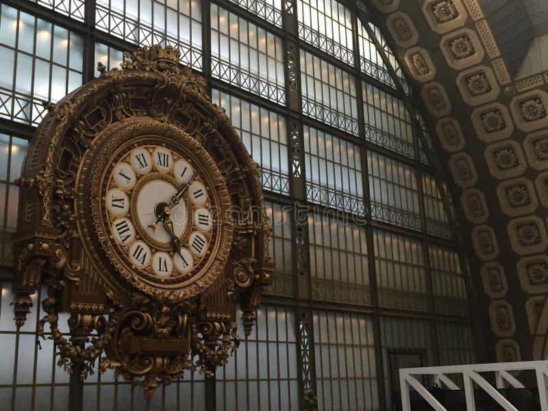 Μεγάλο ρολόι μουσείων στοκ εικόνες