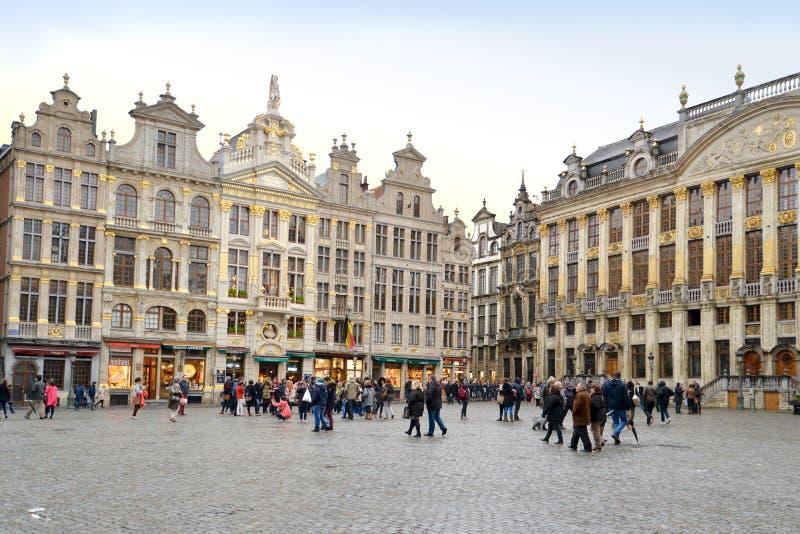 Μεγάλο τετράγωνο παλατιών, Βρυξέλλες στοκ φωτογραφίες με δικαίωμα ελεύθερης χρήσης