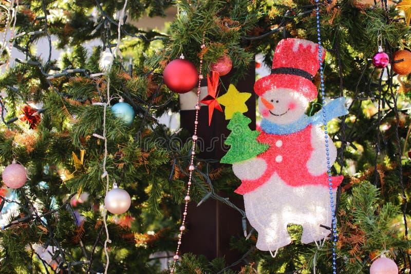 Μεγάλο χριστουγεννιάτικο δέντρο στοκ φωτογραφίες με δικαίωμα ελεύθερης χρήσης