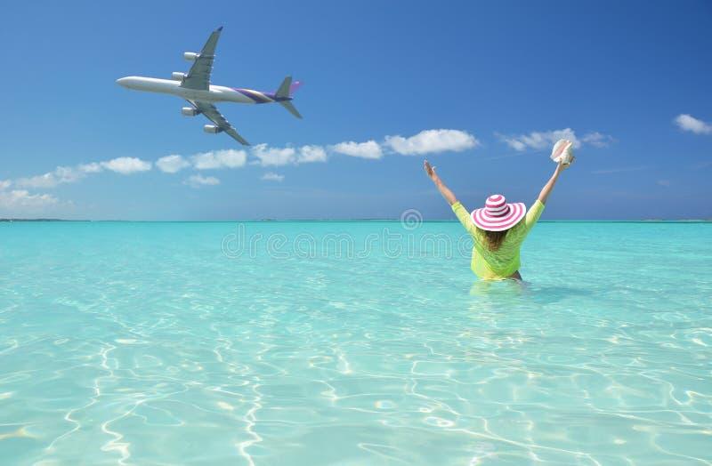 Μεγάλο Exuma, Μπαχάμες στοκ εικόνες