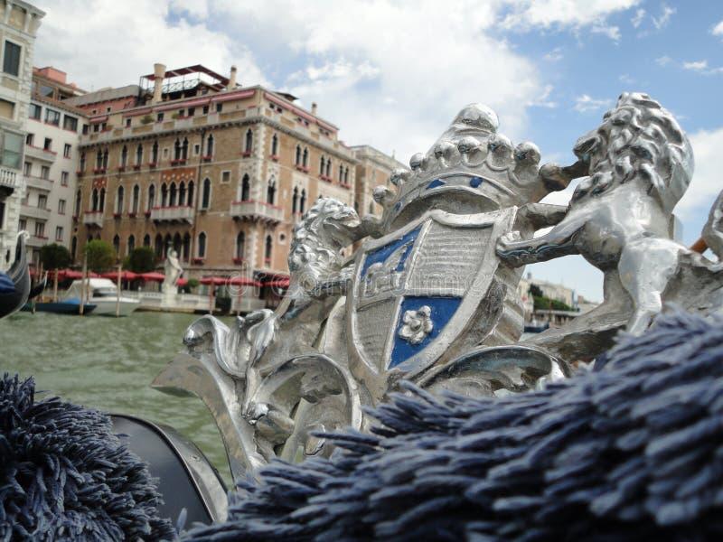 Μεγαλοπρεπής γόνδολα της Βενετίας στοκ εικόνα