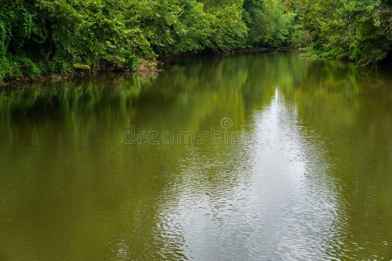 Μεγαλοπρεπής ποταμός Roanoke στοκ εικόνες με δικαίωμα ελεύθερης χρήσης
