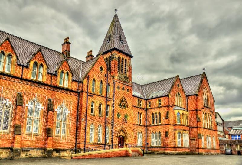 Μεθοδιστές κολλέγιο στο Μπέλφαστ στοκ εικόνα με δικαίωμα ελεύθερης χρήσης