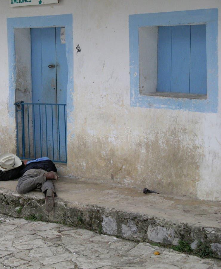 Μεθυσμένος μεξικανός στοκ φωτογραφίες με δικαίωμα ελεύθερης χρήσης