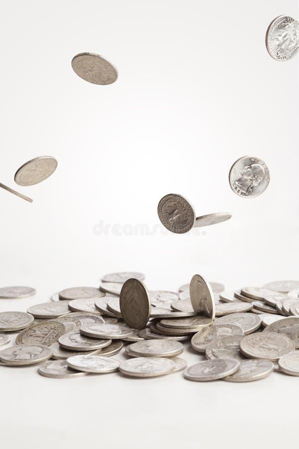 Μειωμένα νομίσματα στοκ φωτογραφίες με δικαίωμα ελεύθερης χρήσης