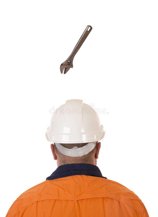 Μειωμένος κίνδυνος αντικειμένου στην εργασία στοκ φωτογραφίες με δικαίωμα ελεύθερης χρήσης