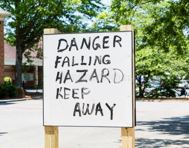Μειωμένος κίνδυνος κινδύνου στοκ φωτογραφίες