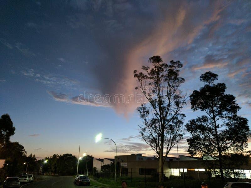Μειωμένο σύννεφο στοκ εικόνες