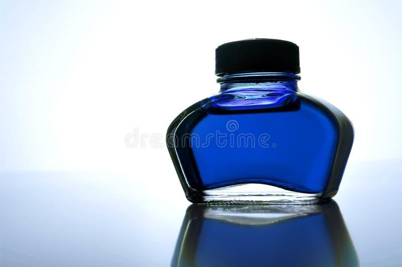μελάνι μπουκαλιών στοκ εικόνα
